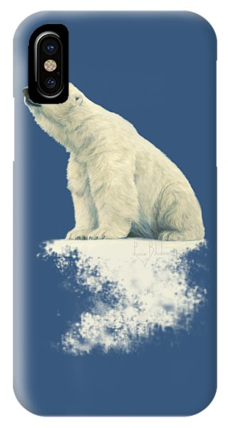 Winter iPhone Case - Something In The Air by Lucie Bilodeau