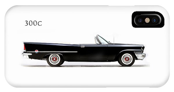 American iPhone Case - Chrysler 300c 1957 by Mark Rogan