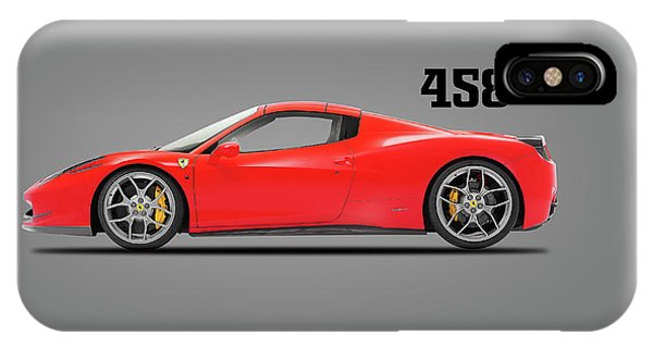 Ferrari 458 Italia IPhone Case