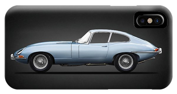 Coupe iPhone Case - The 65 E-type Coupe by Mark Rogan