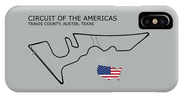 Circuit Of The Americas IPhone Case