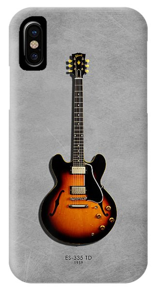 Gibson Es 335 1959 IPhone Case