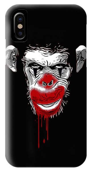 Evil Monkey Clown IPhone Case