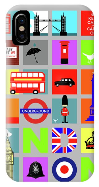City iPhone Case - London by Mark Rogan