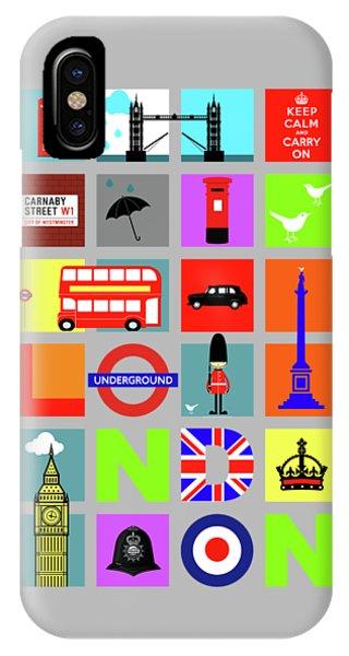 London iPhone Case - London by Mark Rogan