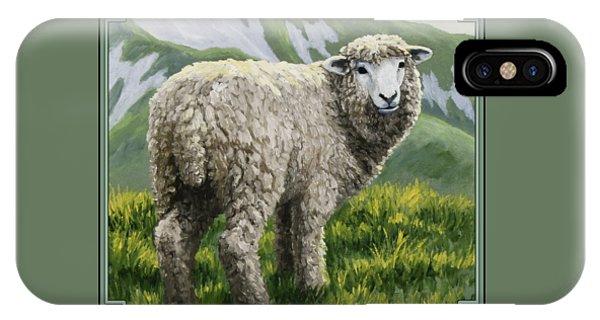Highland Ewe IPhone Case