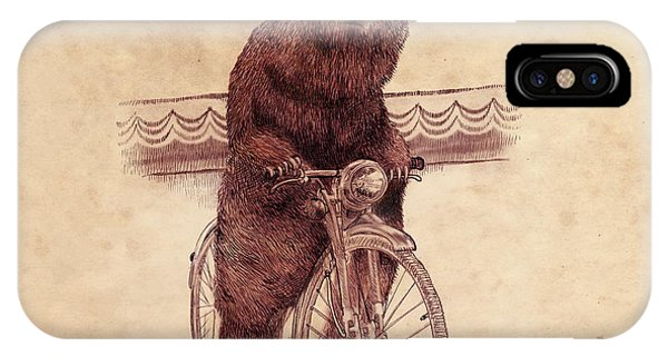 Cycling iPhone Case - Barnabus by Eric Fan