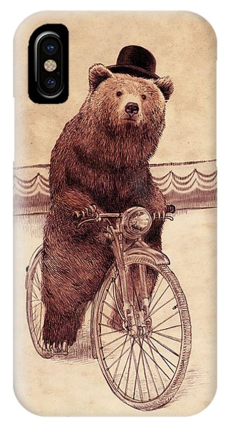 Bicycle iPhone X Case - Barnabus by Eric Fan