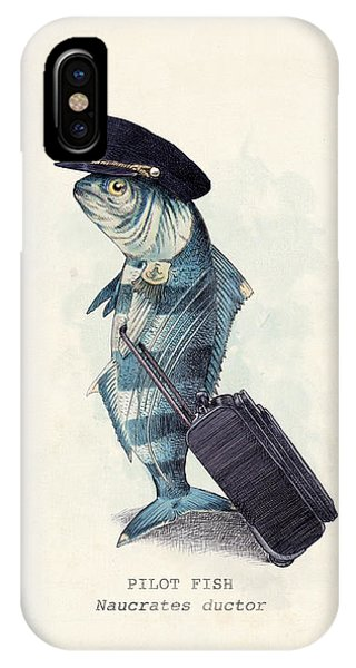 Animals iPhone Case - The Pilot by Eric Fan