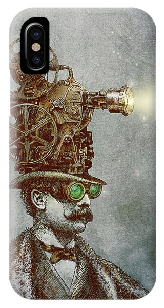 Magician iPhone Case - The Projectionist by Eric Fan