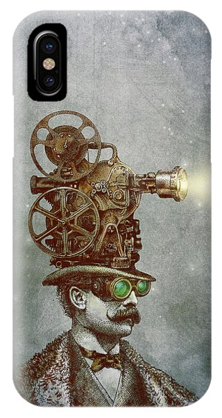 Magic iPhone Case - The Projectionist by Eric Fan