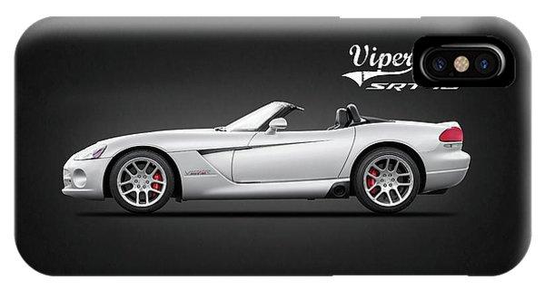 Viper iPhone Case - Dodge Viper Srt10 by Mark Rogan