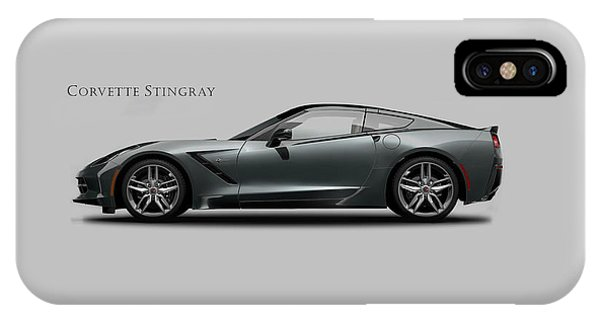 Coupe iPhone Case - Corvette Stingray Coupe by Mark Rogan