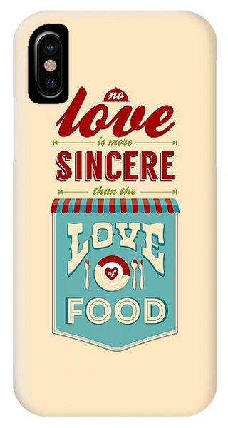 Love iPhone Case - Typography Art Quotes Poster by Lab No 4 - The Quotography Department