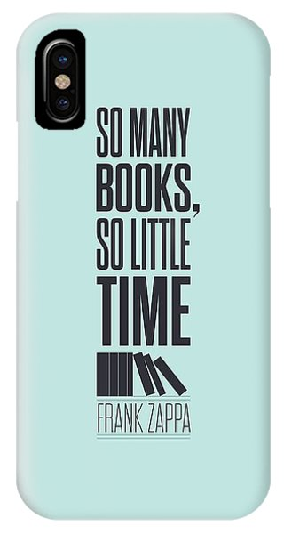 Frank Zappa iPhone Case - Frank Zappa Quote Typography Print Quotes Poster by Lab No 4 - The Quotography Department