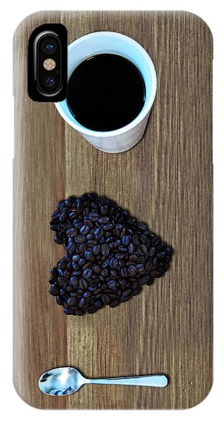 Drink iPhone Case - I Love Coffee by Nicklas Gustafsson