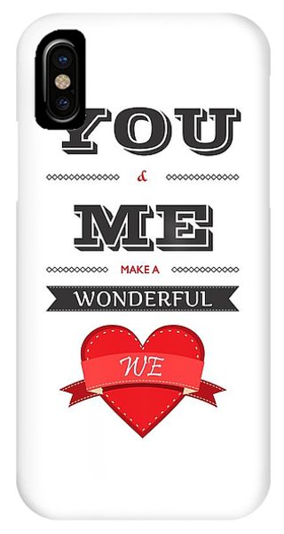 Love iPhone Case - Love Lyrics Quotes Typography Quotes Poster by Lab No 4 - The Quotography Department