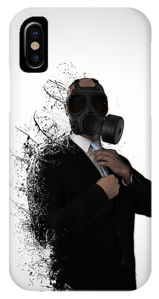 Men iPhone Case - Dissolution Of Man by Nicklas Gustafsson