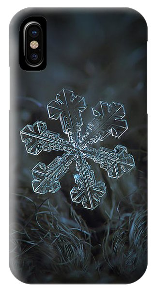 Snowflake Photo - Vega IPhone Case