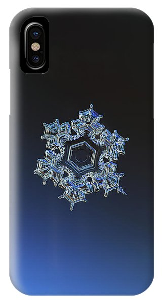 Snowflake Photo - Spark IPhone Case