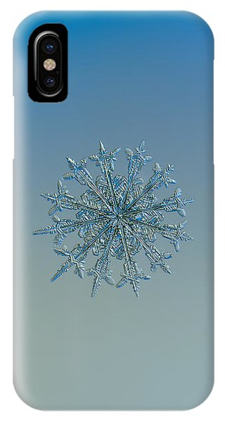 Snowflake Photo - Twelve Months IPhone Case