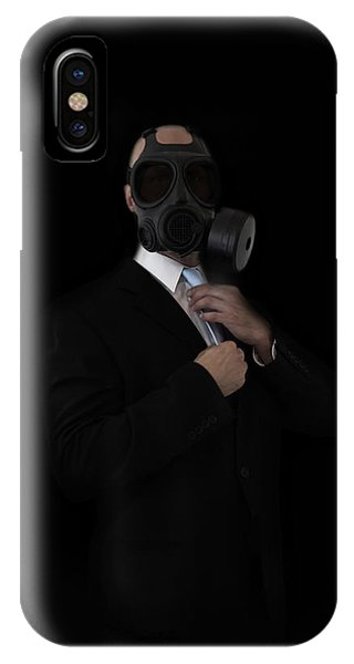 Business iPhone Case - Apocalyptic Style by Nicklas Gustafsson