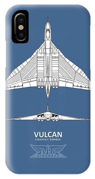 Bomber iPhone Case - The Avro Vulcan by Mark Rogan