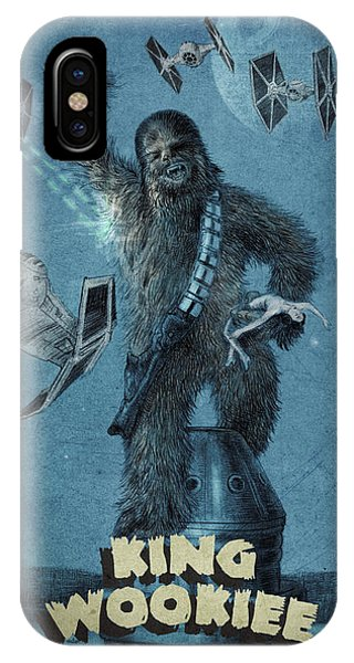 Empire State iPhone Case - King Wookiee by Eric Fan
