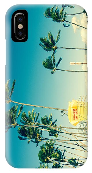 Kapukaulua Beach Maui North Shore Hawaii IPhone Case