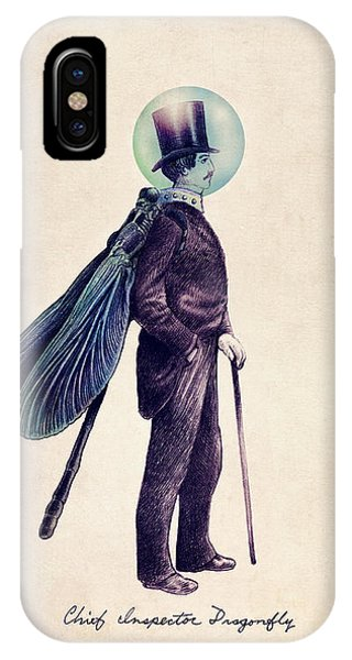 iPhone Case - Inspector Dragonfly by Eric Fan