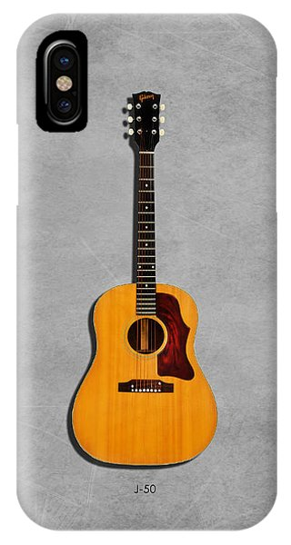 Gibson J-50 1967 IPhone Case