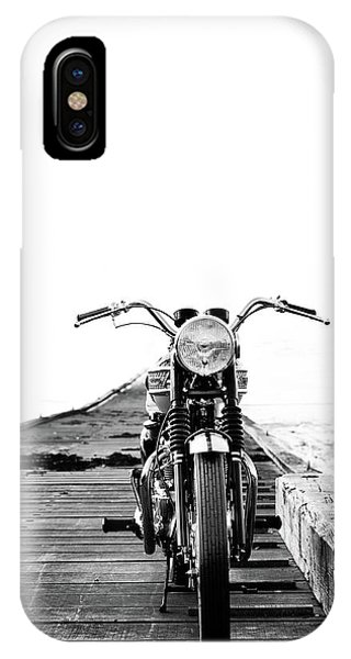 Harley iPhone Case - The Solo Mount by Mark Rogan