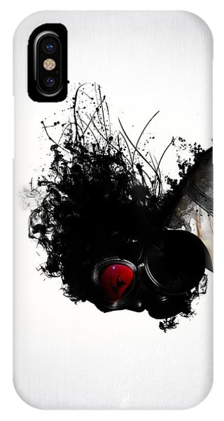 Futuristic iPhone Case - Ghost Warrior by Nicklas Gustafsson