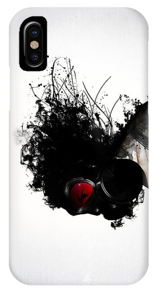 Ghost iPhone Case - Ghost Warrior by Nicklas Gustafsson