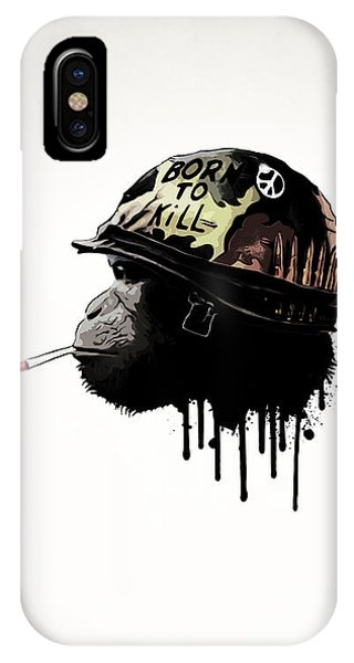 Movie iPhone Case - Born To Kill by Nicklas Gustafsson