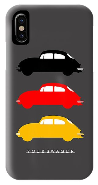 Volkswagen iPhone Case - German Icon - Vw Beetle by Mark Rogan