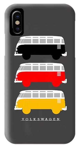 Volkswagen iPhone Case - German Icon - Vw T1 Samba by Mark Rogan
