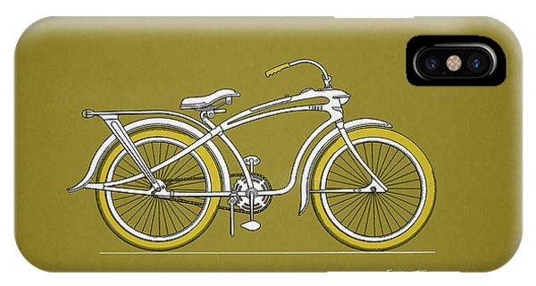 Bike iPhone X Case - Bicycle 1937 by Mark Rogan
