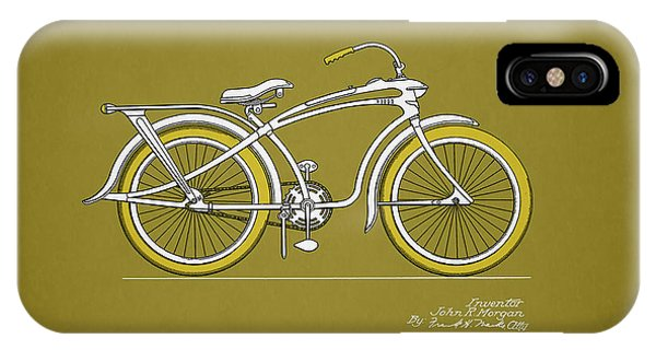 Bicycle iPhone X Case - Bicycle 1937 by Mark Rogan