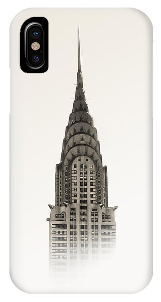 Buildings iPhone Case - Chrysler Building - Nyc by Nicklas Gustafsson