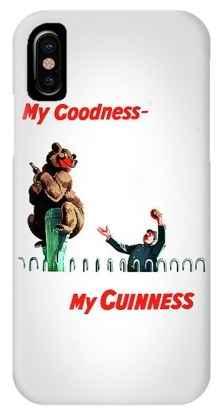 Menu iPhone Case - My Goodness My Guinness 2 by Mark Rogan