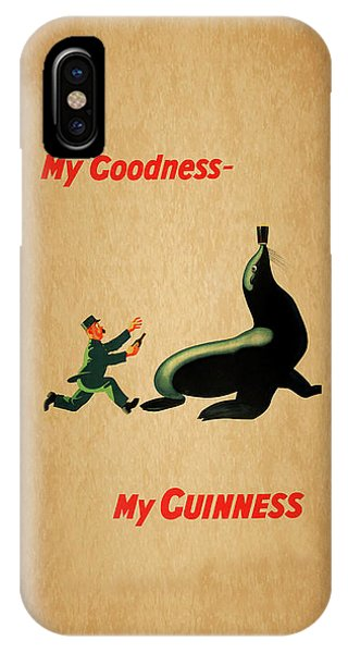 Menu iPhone Case - My Goodness My Guinness 1 by Mark Rogan