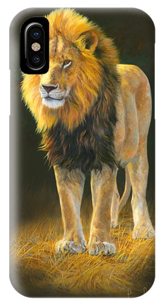 Mammal iPhone Case - In His Prime by Lucie Bilodeau