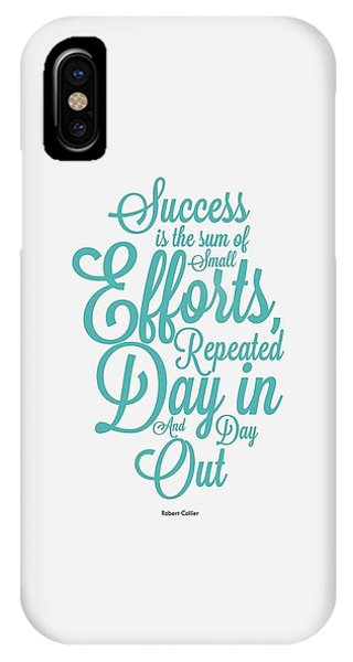 Celebration iPhone Case - Success Inspirational Quotes Poster by Lab No 4 - The Quotography Department