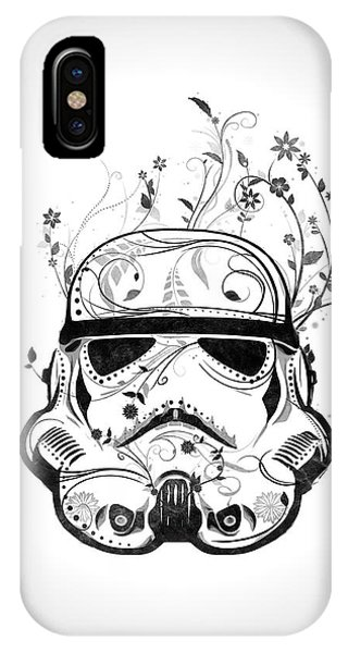 Flower Trooper IPhone Case