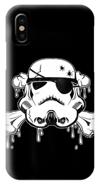 Eyes iPhone Case - Pirate Trooper by Nicklas Gustafsson