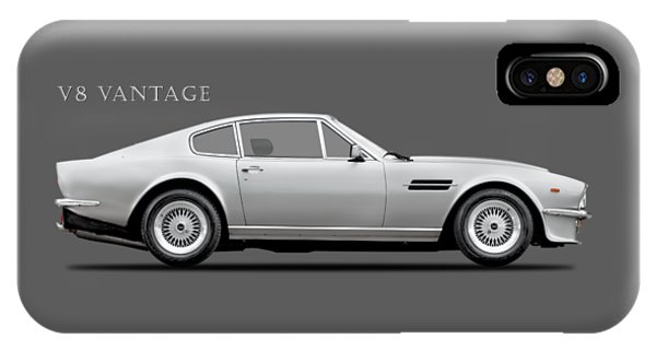 Martin iPhone Case - The Aston V8 Vantage by Mark Rogan