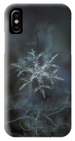 Snowflake Photo - Rigel IPhone Case