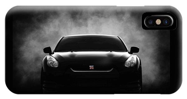 Cars iPhone Case - GTR by Douglas Pittman