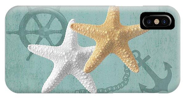 Nautical Stars IPhone Case